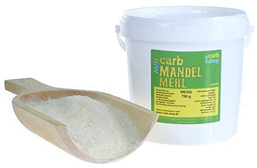-Carb weißes Mandelmehl entölt (750 g)