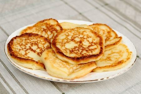 Low Carb Mandelmehl Pfannkuchen